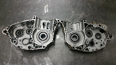 Suzuki RMZ 450 right left crank case crankcase pair 05 06 07 2005