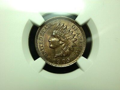 1905 Indian Head Cent-  NGC MS62BN
