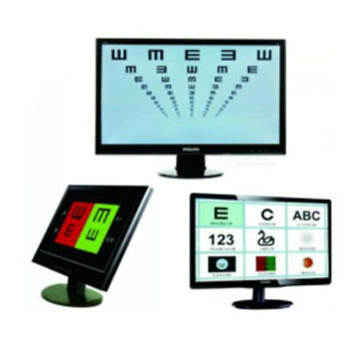 CE Approved China Ophthalmic Equipment 19 Inch  Vision Chart and Chart Monitor