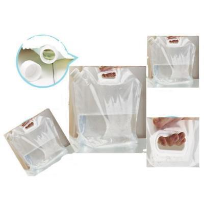 10L Portable Folding Transparent Water Storage Collapsible Container Carrier