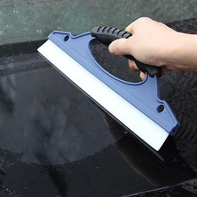 Silicone Window Wash Cleaning Brush Cleaner Wiper Squeegee Drying Blade Tool 1pc