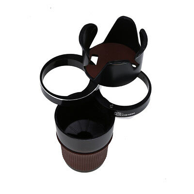 Multi-function 3 Layers Car Stack Rotatable Organizer Storage Cup Holder 5 in 1