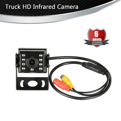 170 Degrees Waterproof Backup Camera Infrared Camera For Truck RV Trailer Bus