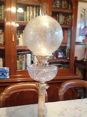 Antique Style Kerosene Lamp Shade