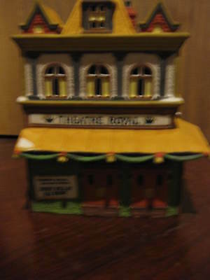 "Dept 56 ""Theatre Royal"" Heritage Village Collection Dickens' Series #5584-0"