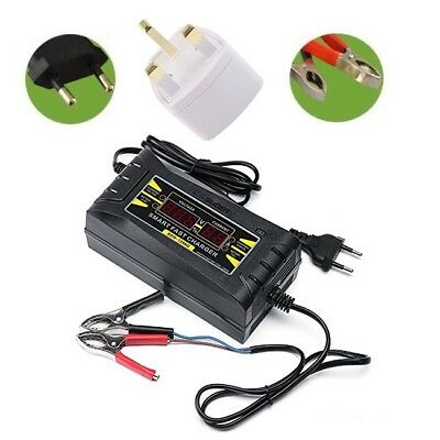12V 6A Automatic LCD Digital Smart Fast Trickle Battery Charger Car Motorcycle