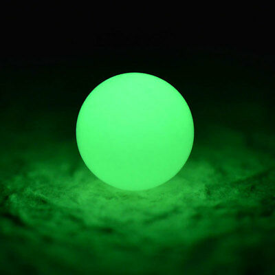 100Pcs Round Luminous Glow Rig Beads Sea Fishing Lure Floating Float Tackle Braw