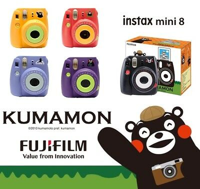 KUMAMON x Fujifilm FUJI Instax Mini 8 Instant Film Camera Gift Set - Many Colors