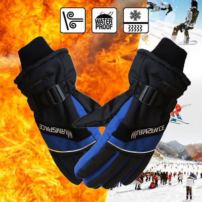 🔥 🔥 Pair Electric Heated Glove Touch Screen Winter Warmer Rechargeable Battery