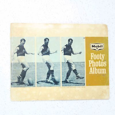 Mobil 1965 Footy Photos Album Collectible 40 Cards AFL VFL Australian Rules #414