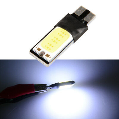 1x Car White DC12V 5W T10 W5W 194 168 LED COB Canbus Side Lamp Wedge Light Bulb