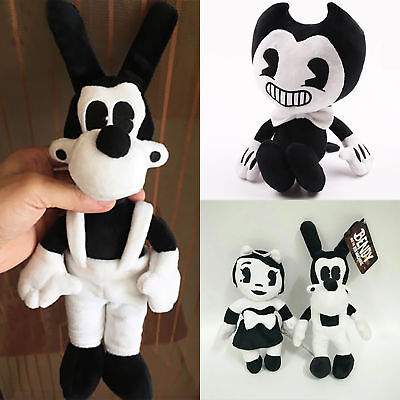 Bendy and the Ink Machine Series Figure Bendy Boris Plush Toys Doll Xmas Gifts F