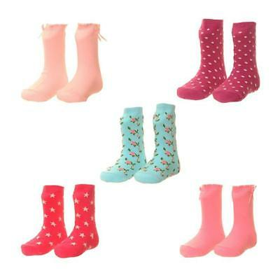 Zippy Baby Printed Cotton Rich Socks Pack of 5 Gift Boxed - GIRLS