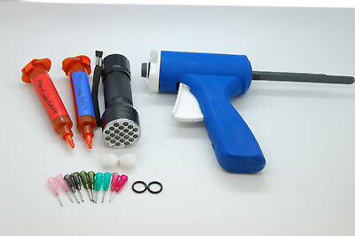 20Ml Fly Tying Thick And Light  Uv,glue Gun, Nozzles,21 Uv Led Torch Set