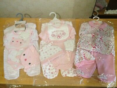 Bundle of baby girls clothes sets size 0-3 months BNWT