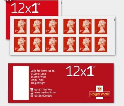 4 booklets of 12 1st Class self adhesive Stamps ( seller away)