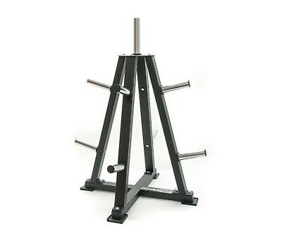 Olympic Weight Plate Storage Tree Rack Stand - PowerGym Fitness