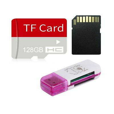 128GB High Speed Micro SD TF Flash Memory Card & SD Adapter for Cam Phone Lot
