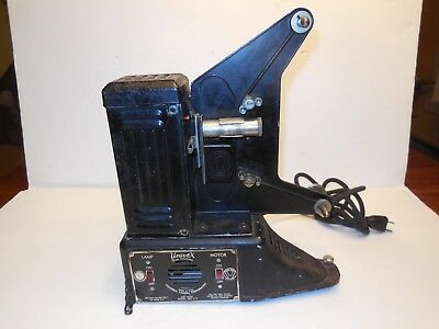 Vintage UNIVEX 8MM MOVIE FILM PROJECTOR - WORKS but needs belt - FREE SHIPPING