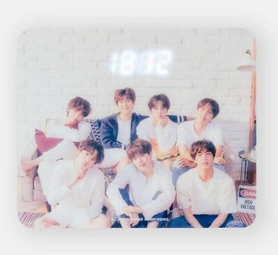 BTS - 2018 Exhibition ACRYLIC CLOCK official MD 오,늘 O,ZL - Standard Shipping