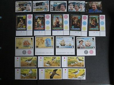 St Helena QEII Decimal stamps with Face Value of £5.21 Mint Never Hinged