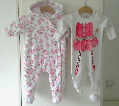Baby Girls Bundle - Next And Mothercare - Age 0-3 Months & 3-6 Months