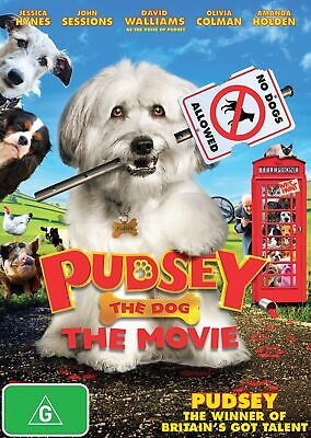 Pudsey the Dog The Movie DVD Region 4 NEW