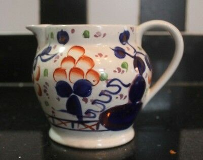 Gaudy welsh/ ware jug, Allertons, no 24, Antique jug imari colours,