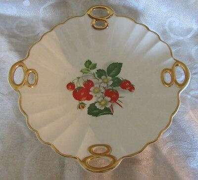 Crown Devon Fortnum & Mason Bowl Dish Strawberry Design