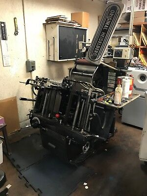 Heidelberg windmill press must buy the two presses perfect running conditiion