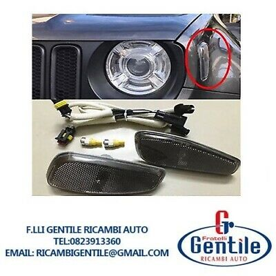 Kit Conversione Fanale Led Laterale Nero Fume Jeep Renegade Dal 2014 Dx+Sx
