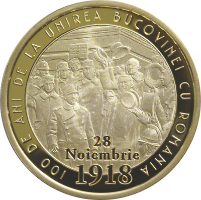 50 Bani 2018 100 years since the union of Bukovina with Romania Proof !!NEW!!