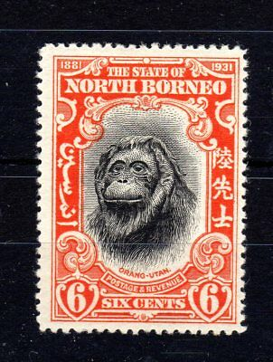North Borneo 1931 6 cents sg296 mounted mint cat 20.00