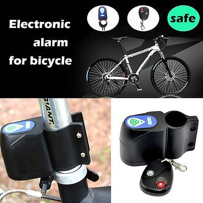 Wireless Alarm Lock Bicycle Bike Security System Remote Control Anti-Theft M4