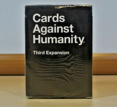 Cards Against Humanity Third Expansion Pack 100 Cards 12 Bonus Blank Cards New