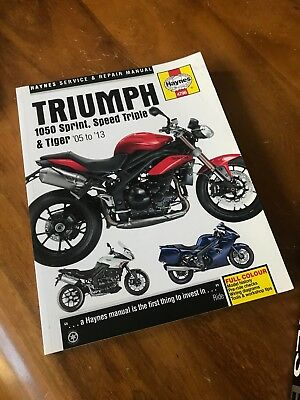 triumph sprint st rs workshop repair manual download all 2002 onwards models covered
