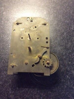 Fusee Clock Movement For Restoration
