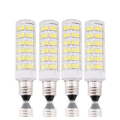 6W Dimmable E11 LED Light Bulb 45W Bulbs Equivalent Candelabra Base Daylight NEW