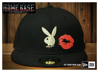 7444a3b9043e2 NEW ERA JAPAN x Playboy Bunny Kiss 59Fifty Exclusive Fitted cap hat ...