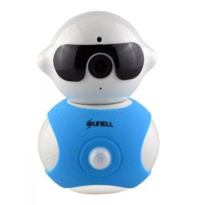 SUNELL 720P HD Wireless Mini Smart Home Monitoring Camera with 355 Degrees Rotat