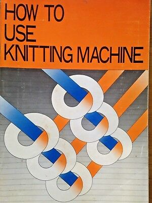 How to use a knitting machine book for  KH 860-- 112 pages