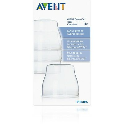 - NEW - Philips AVENT BPA Free Classic Dome Caps - (4 Pack)
