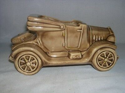 Old Car  Brown Planter Vase  Decor