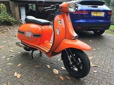 Scomadi TL200 Scooter with Stage 4 Kit and all original parts plus many extras
