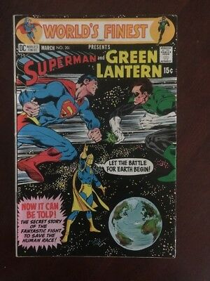 World's Finest Comics #201 (Mar 1971, DC) Neil Adams Art Cover. V/F.