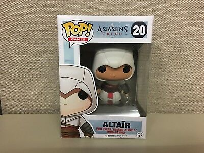 Funko Pop! Games: Assassin's Creed - Altair #20 Vaulted with Clear Protector