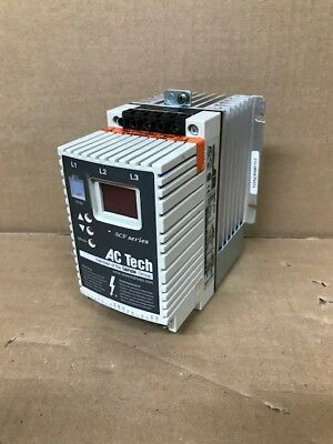 AC Tech Variable Speed AC Motor Drive, SF220 2HP (with heat sink and fan)