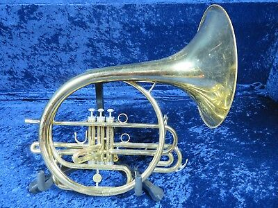 Holton Marching Bb Mellophone/French Horn Ser #547378 Plays Well