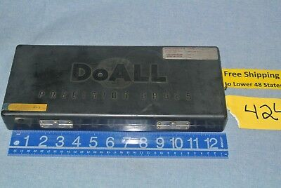 DoALL Precision Inspection  Gage Blocks Set In Case Machine Shop Tool FREE SHP