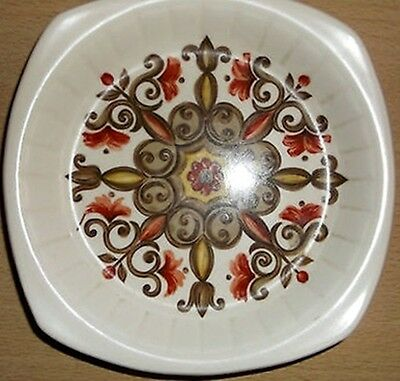 ROYAL WORCESTER PALISSY Marrakesh Retro 70s Sweet Preserves Jam DISH PLATE Rare